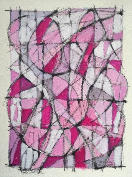 Composizione astratta di forme
